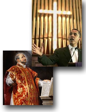 Obama and Ignatius Loyola